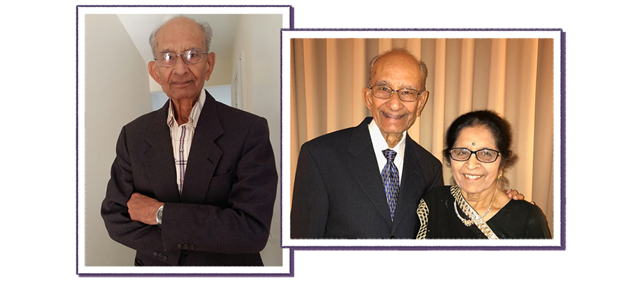 Photo collage of Dr. Bakshi