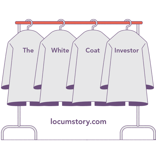 Illustration of The White Coat Investor