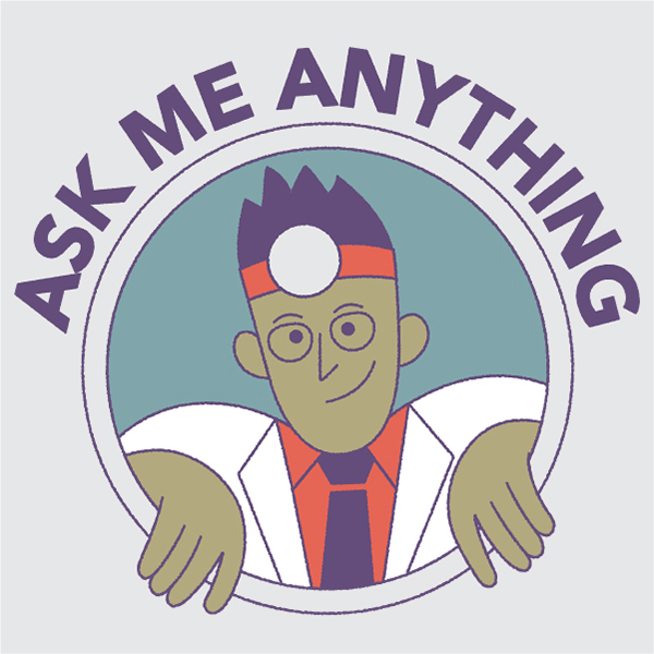 Ask me anything webinar illustration